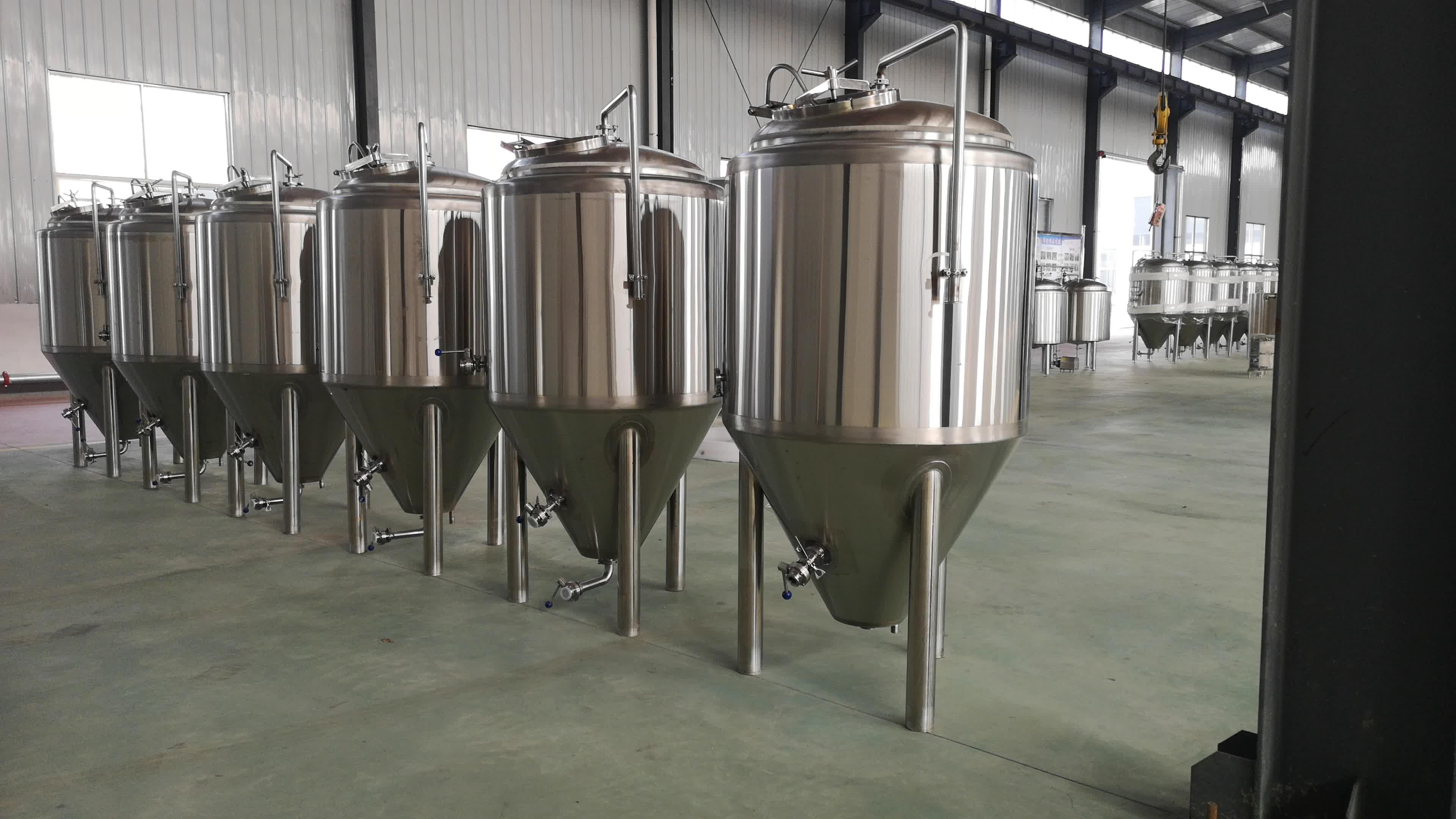 शिल्प बियर कारखाने उपयोग औद्योगिक किण्वन टैंक बड़े
