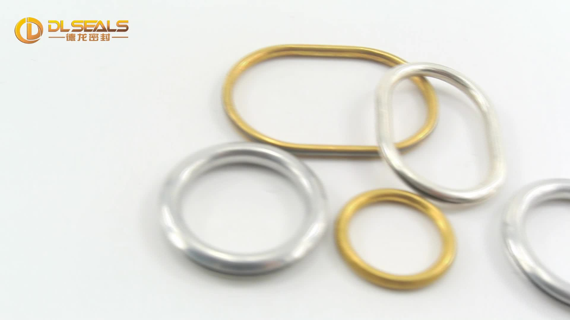 DLseals stainless steel o rings hollow o-rings for Clothing