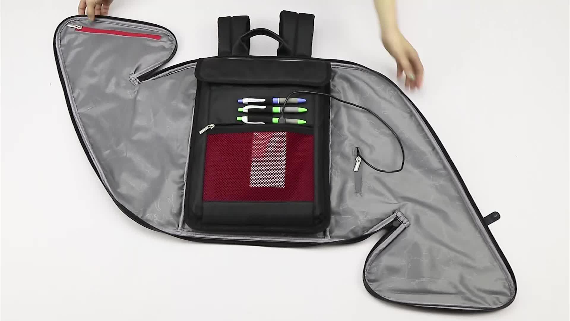 流行 newcom 男性のための USB ファッションスクールバックパックバッグ