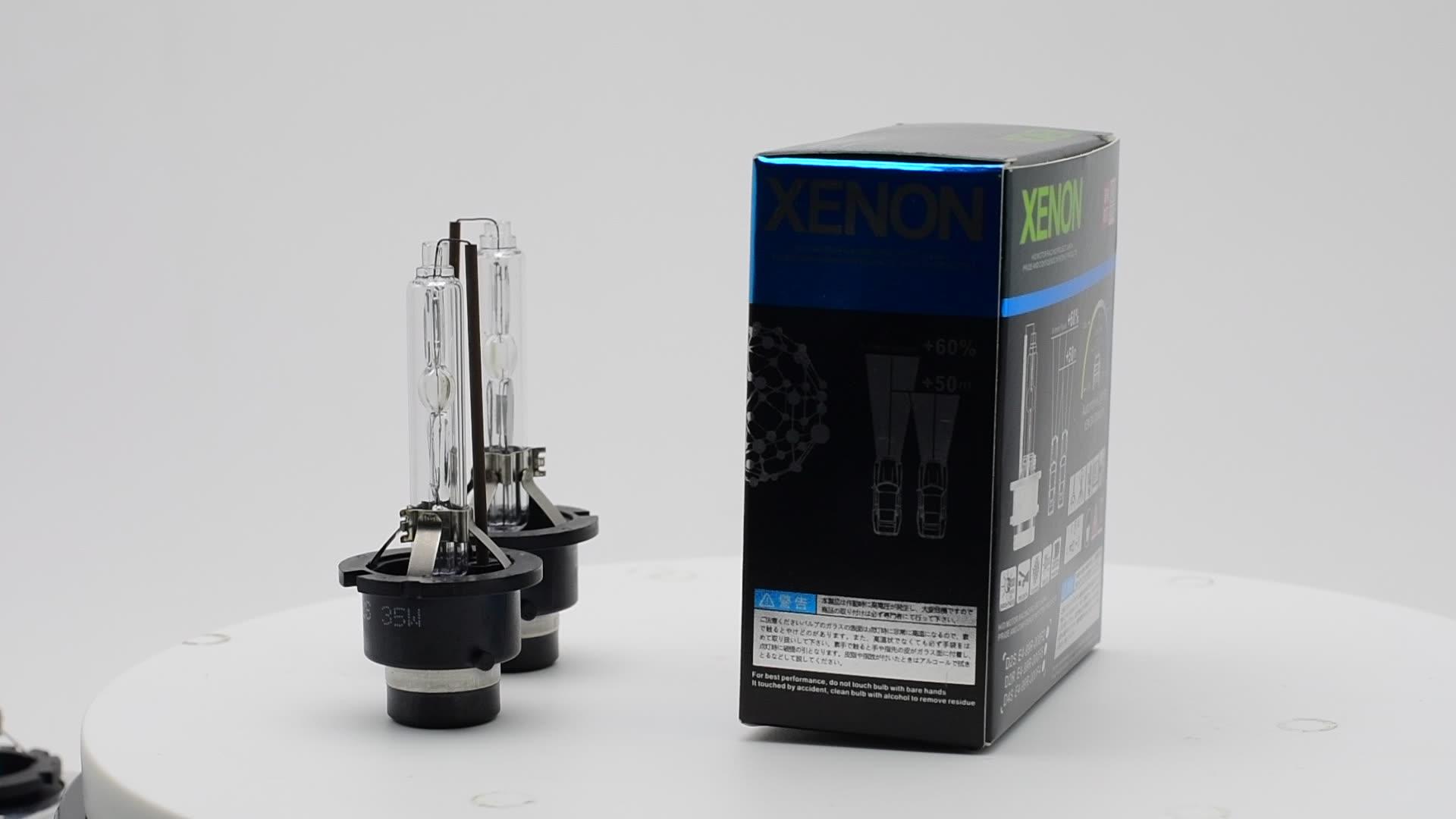 35W D4S/D4R HID 크세논 전구 6000K/4300K 5000k/8000K 헤드 라이트 교체 램프 공장 공급