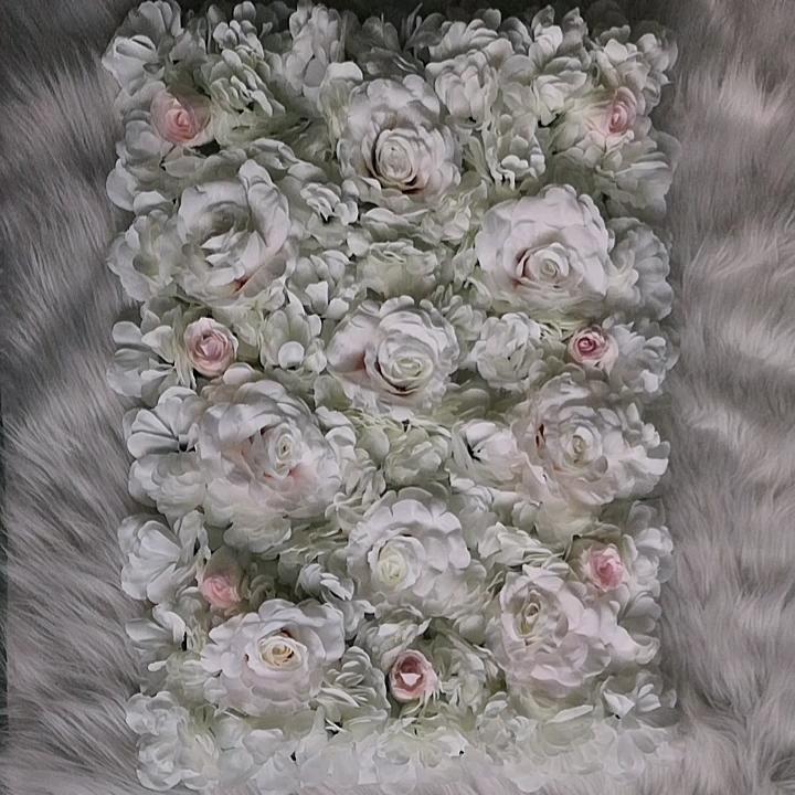 Soie Artificielle Rose Fleur Mur Fleur Tapis Tissu Hortensia Artificiel