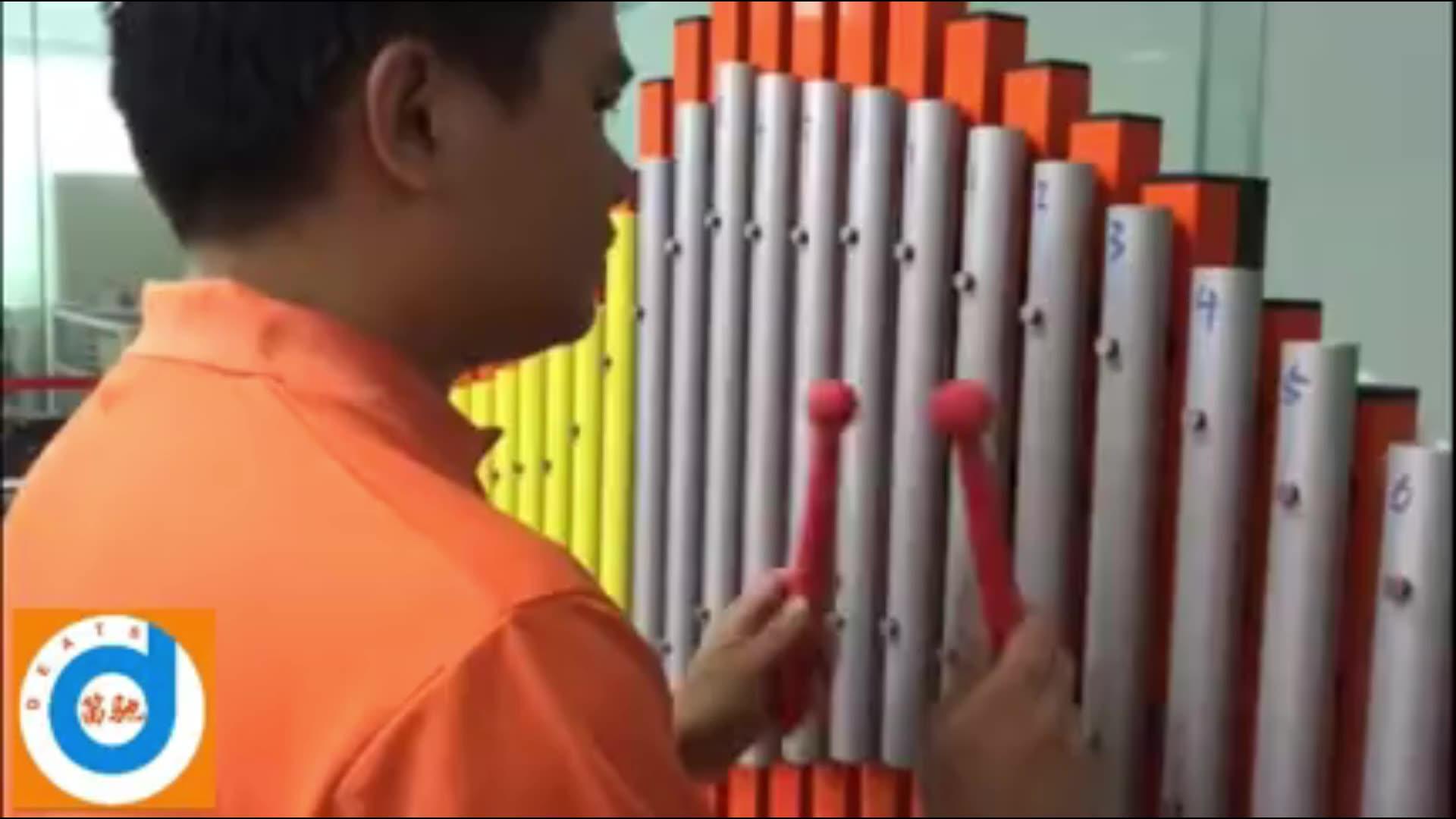 Som personalizado tubo de metal equipamentos de percussão instrumento musical