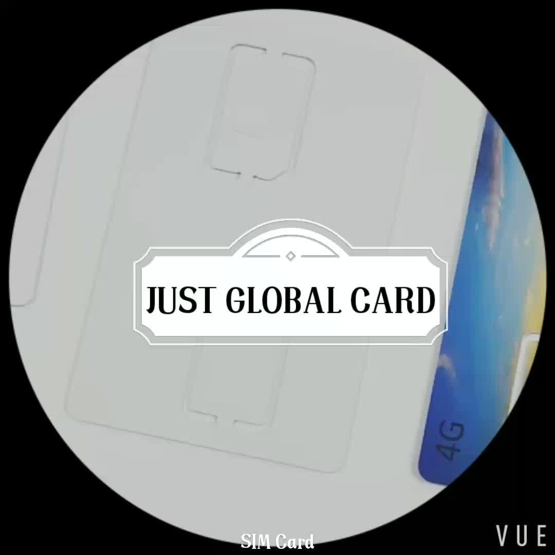 En blanco al por mayor en blanco tarjeta sim con bajo costo de la fábrica de China