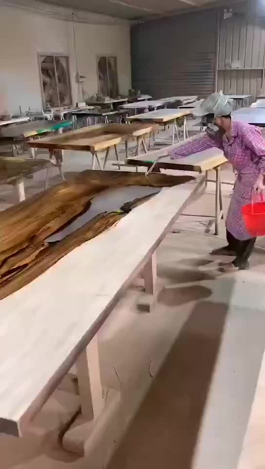 epoxy table american black walnut slab + clear black epoxy resin custom  made dining table, View walnut wood table epoxy resin table, sugar & love  home