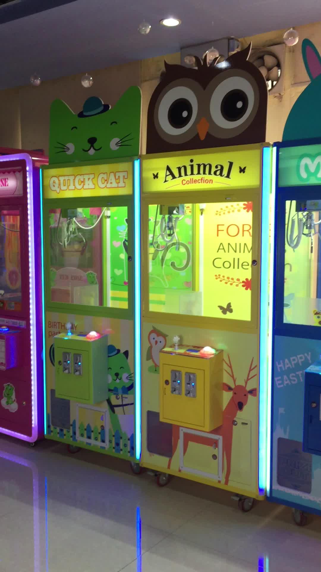 Kast Klauw Games Machine Klauw Machine Speelgoed Kraan Muntautomaat Prijs Machine