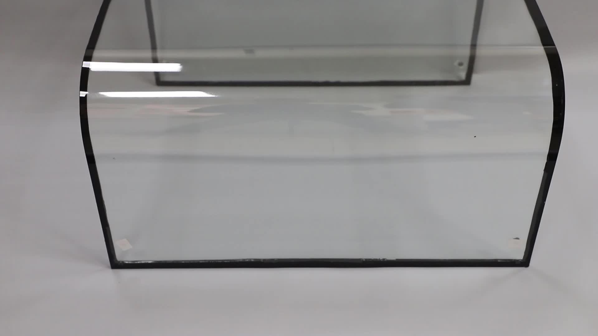 4 millimetri + 9A + 4 millimetri Personalizzato doppi vetri vetro Isolante/vetro isolante di Calore Assorbimento di costruzione Lastra di vetro per pannelli di facciata
