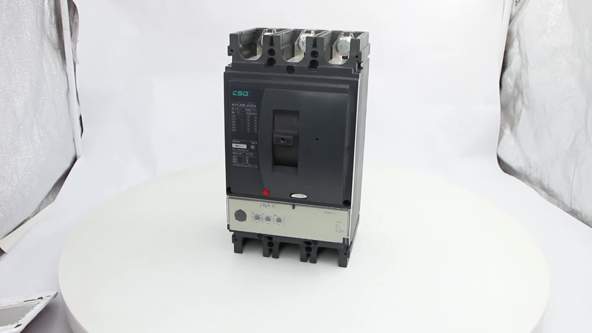 HYCM8 breaker micrologic 2.3 ,250A,315A,350A,400A MCCB NSX