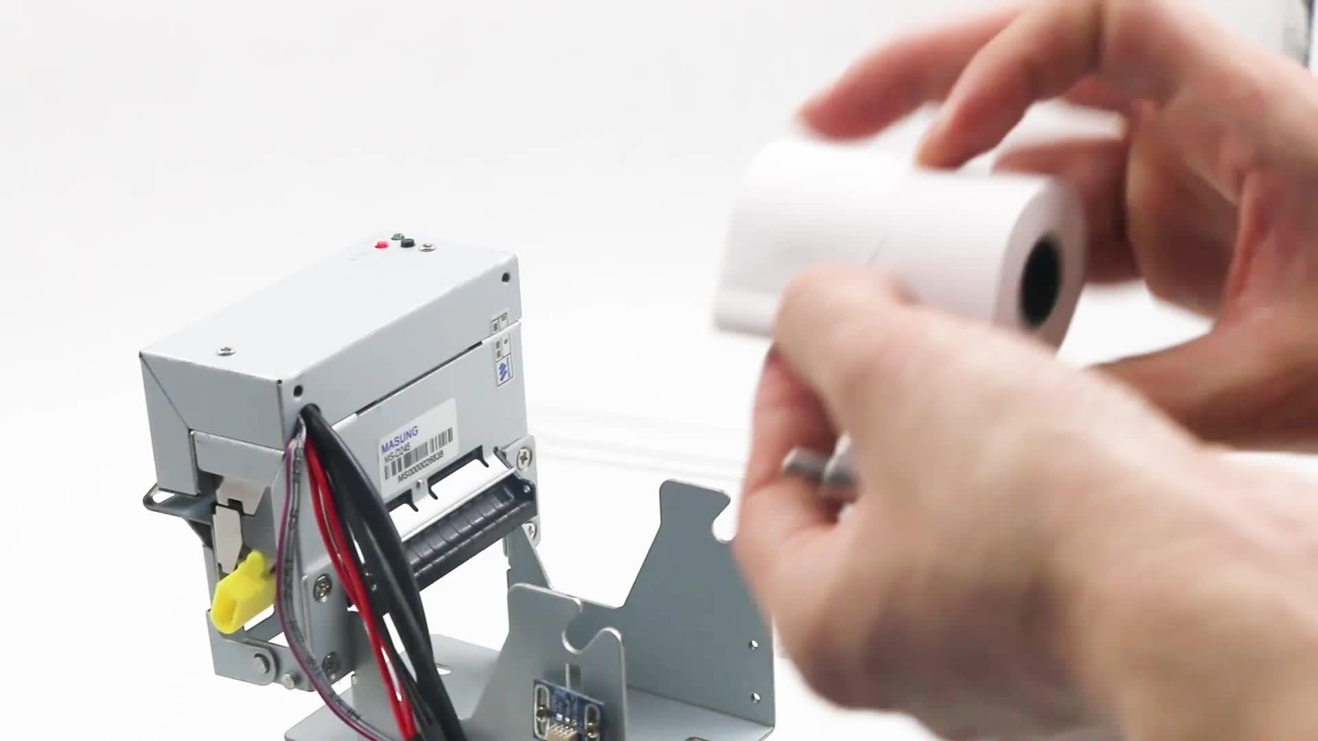 Robuste OEM pris en charge 58mm android QR code imprimante thermique