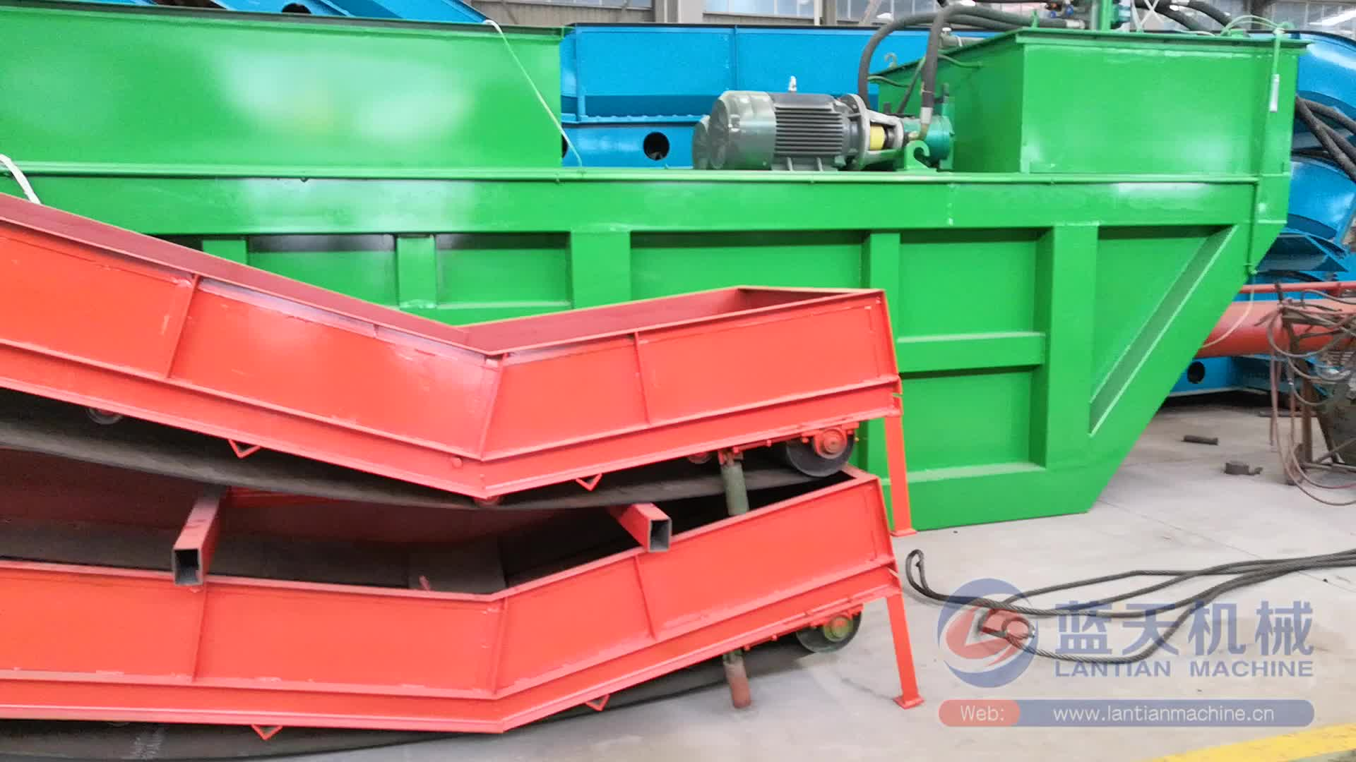 Yatay pres makinesi ambalaj için ahşap talaşı talaş