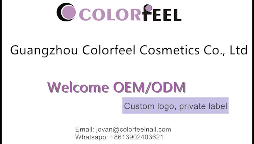 Raw material your logo gray one month color nail salon supply uv gel nail greenstyle gel polish
