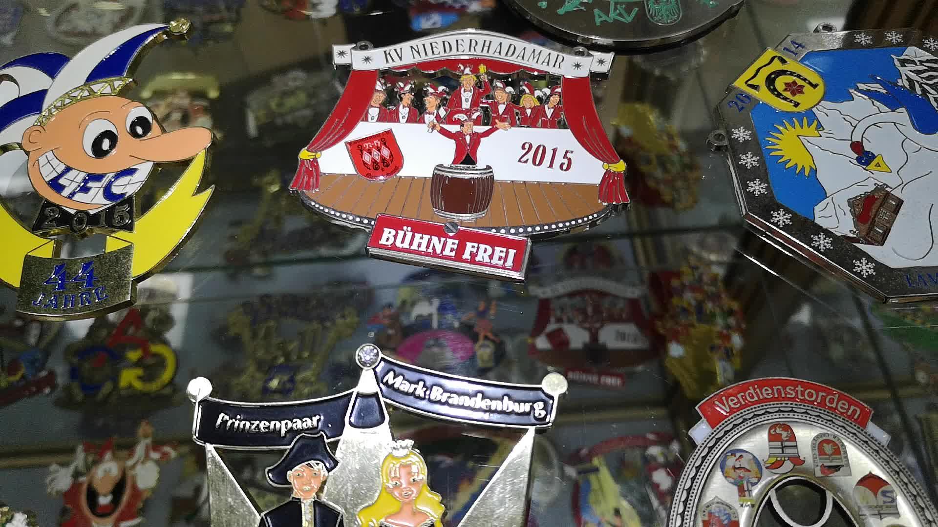 custom colorful carnival carniv carnaval festival medailles medal