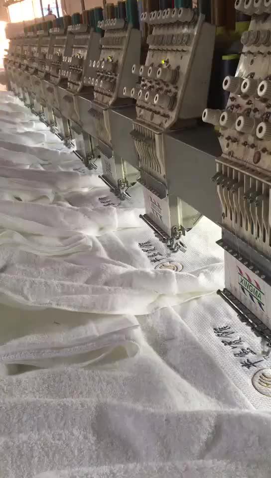 Factory custom size zachte cartoon hand cleaner handdoeken groothandel opknoping handdoek