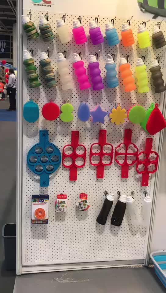 De silicona lavado depuradores esponja cuadrada de succión de plato herramientas de cocina