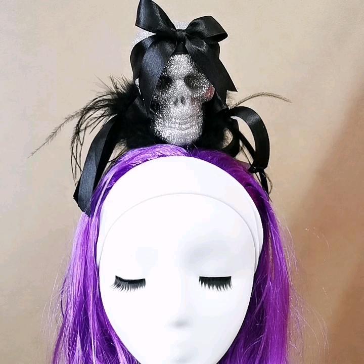Mini silindir şapka Chapeau Haut De Forme Şık De Magicienne Vaudou Cadılar Bayramı