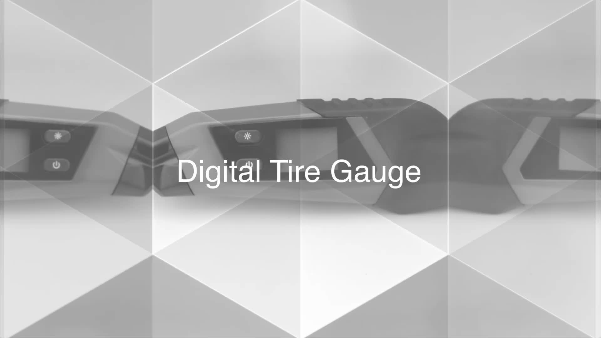 Electronic Tyre Plus Digital Tire Inflator Pressure Gauge