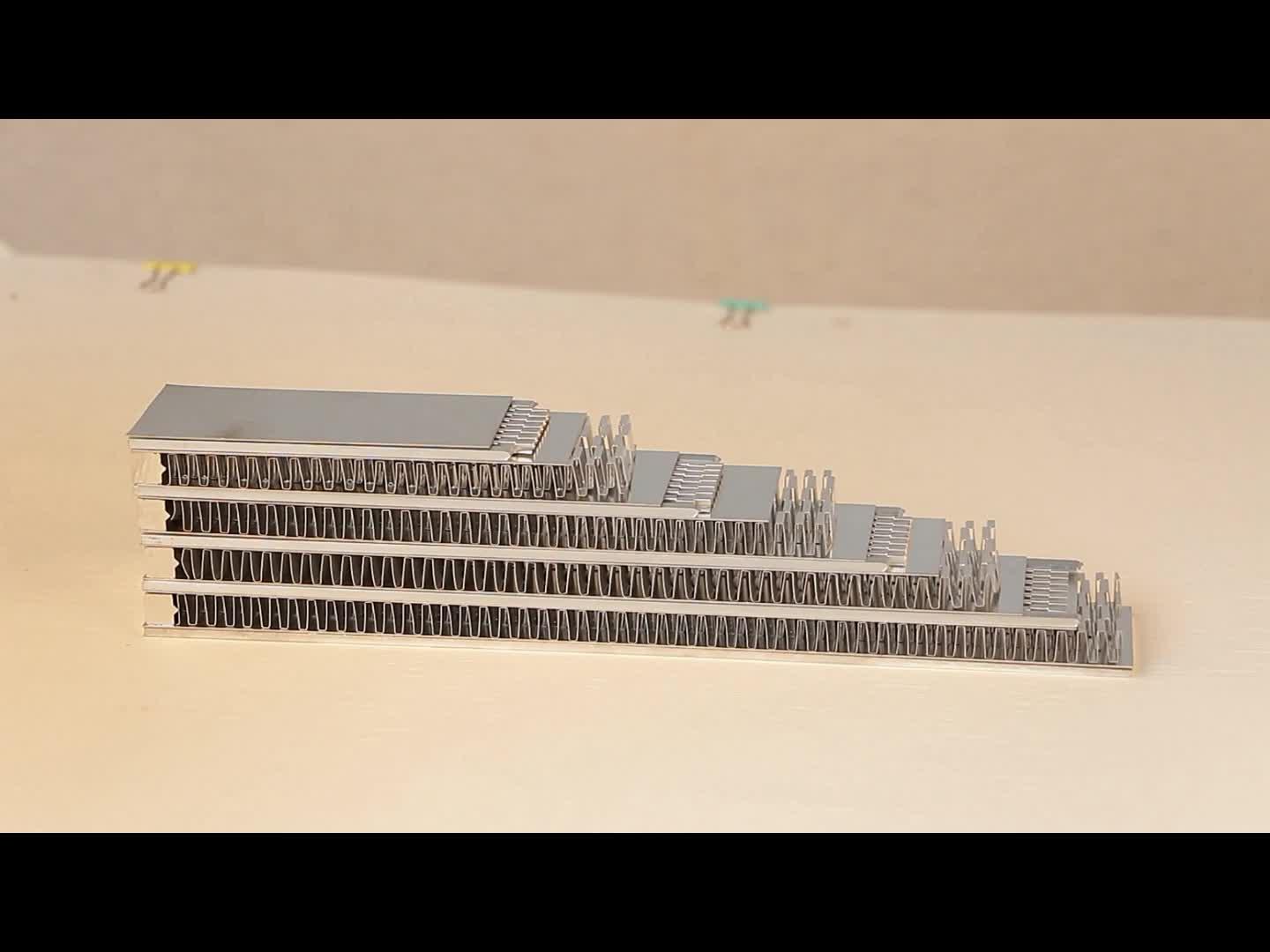 Dongxuไฮดรอลิอุตสาหกรรมเหล็กคาร์บอนสีเทาเชลล์และท่อแลกเปลี่ยนความร้อน