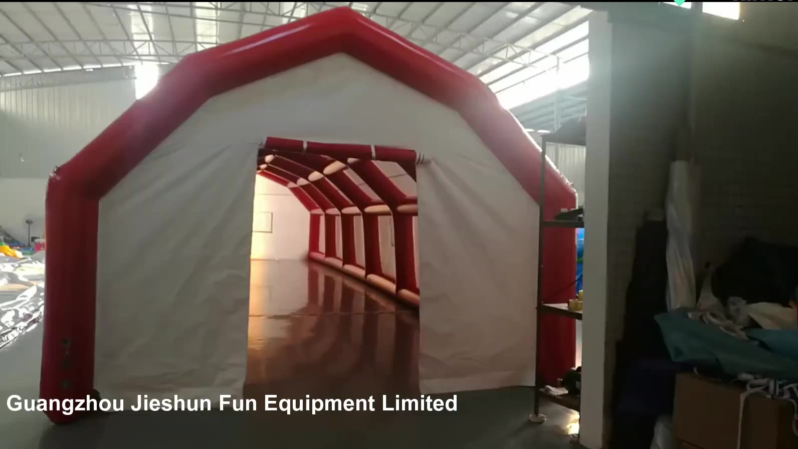 Customizable size Inflatable Emergency Shelter quarantine isolation tent Inflatable Medical Tent for quarantine