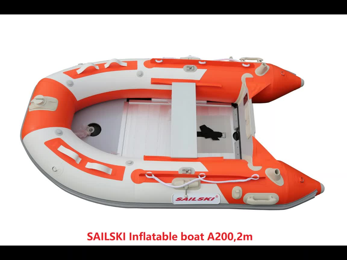 SAILSKI inflatable boat A270  2.7m/9ft for 3 person