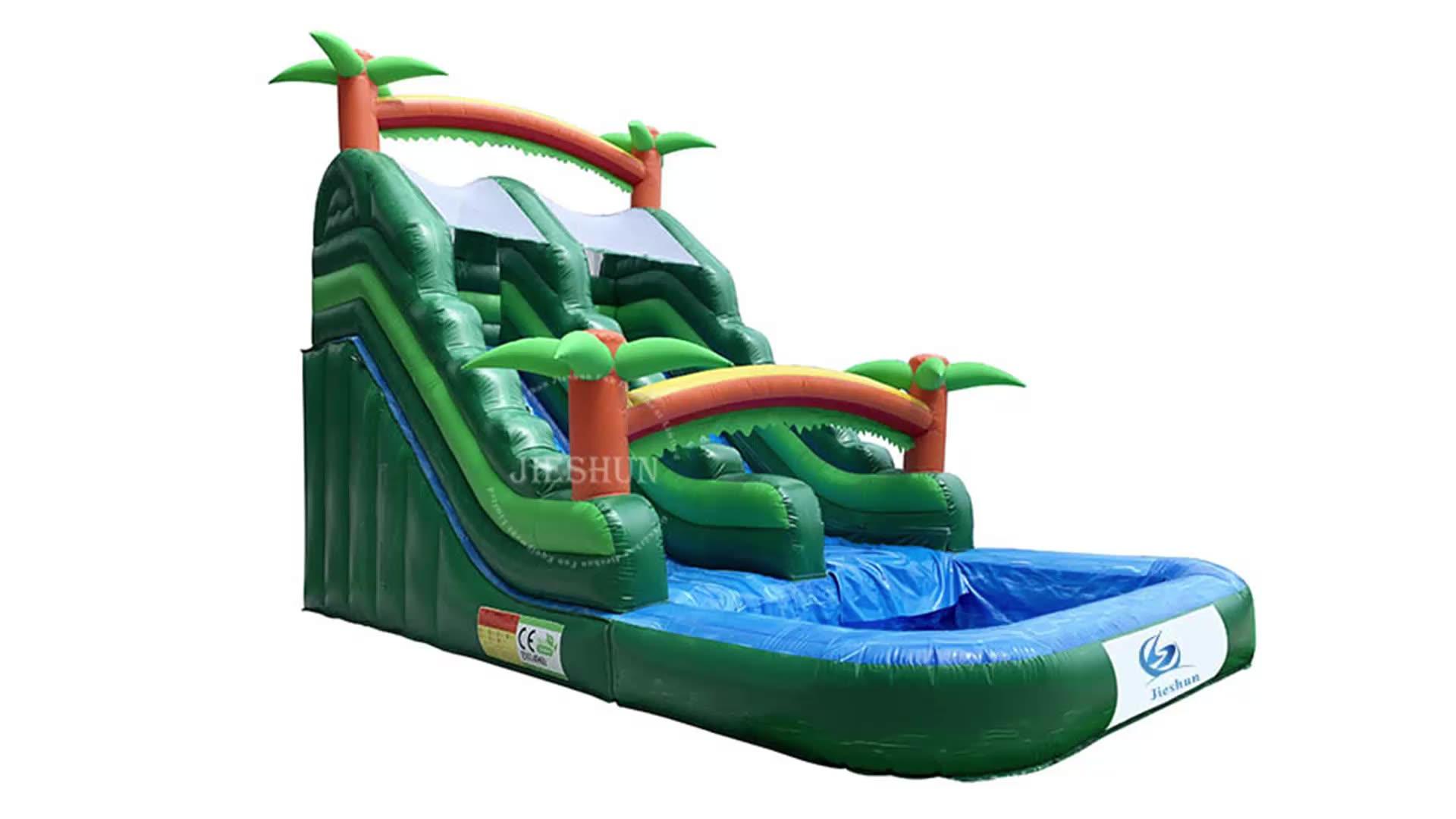 Высококачественные недорогие человеческие маленькие надувные мокрые слайды, дельфин, надувная водная горка, китайская фабрика