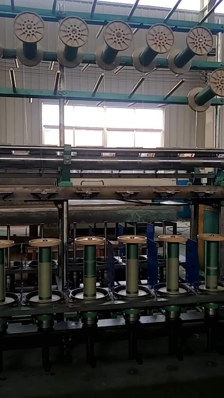 CE certification 15 spindles automatic twisting machine two for one twine yarn twisting machine