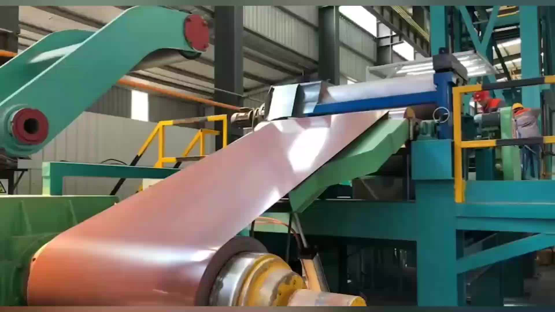 Prepainted GI Steel Coil / PPGI / PPGL Color Coated Galvanized Steel Sheet In Coil pre coated galvanized sheets