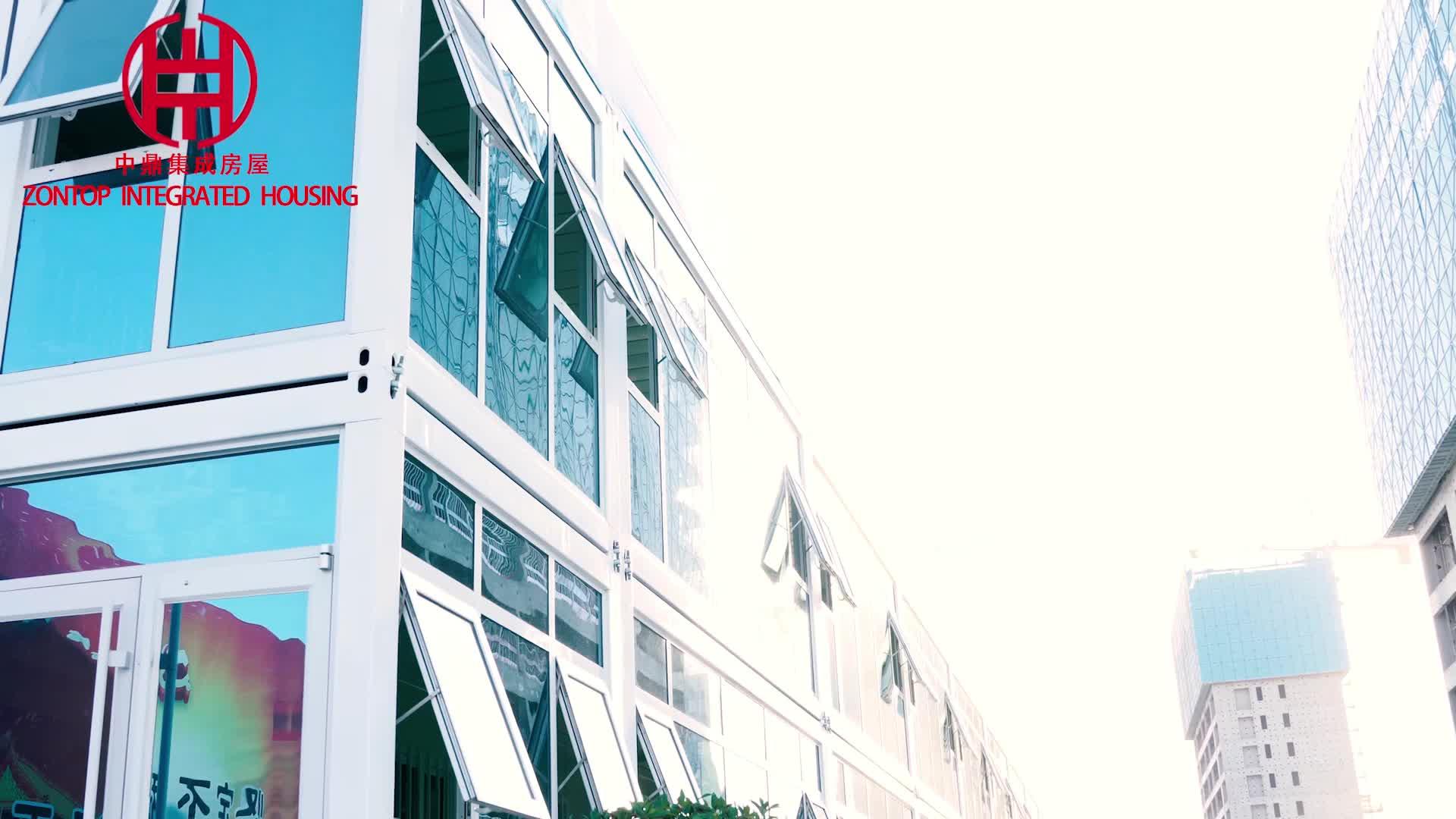 Lage kosten 40ft/20ft prefab container woningen voor kantoor vergaderzaal slaapzaal shop booth wc