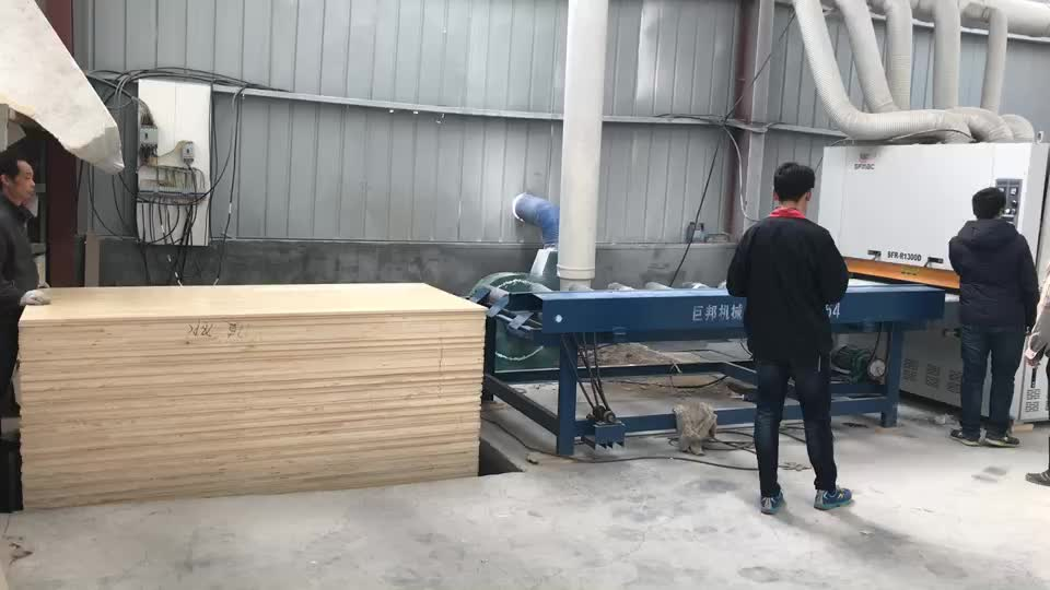 SFR-R1300D Floating UV production line grinding and polishing machine