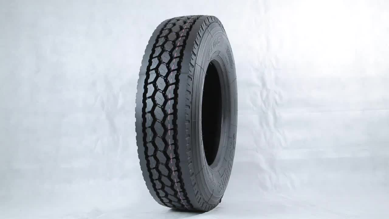 Chinese commercial container nylon truck tires factory 8.25-20 11R24.5