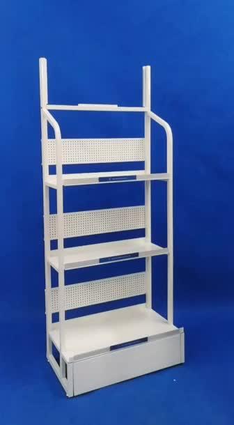 heavy duty floor standing multi layers steel shelf metal custom lubricant display rack for garage stores