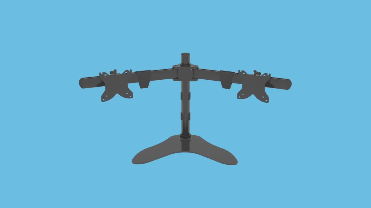 Convenient The Ideal Desktop LCD Monitor Mount With Dual Arms