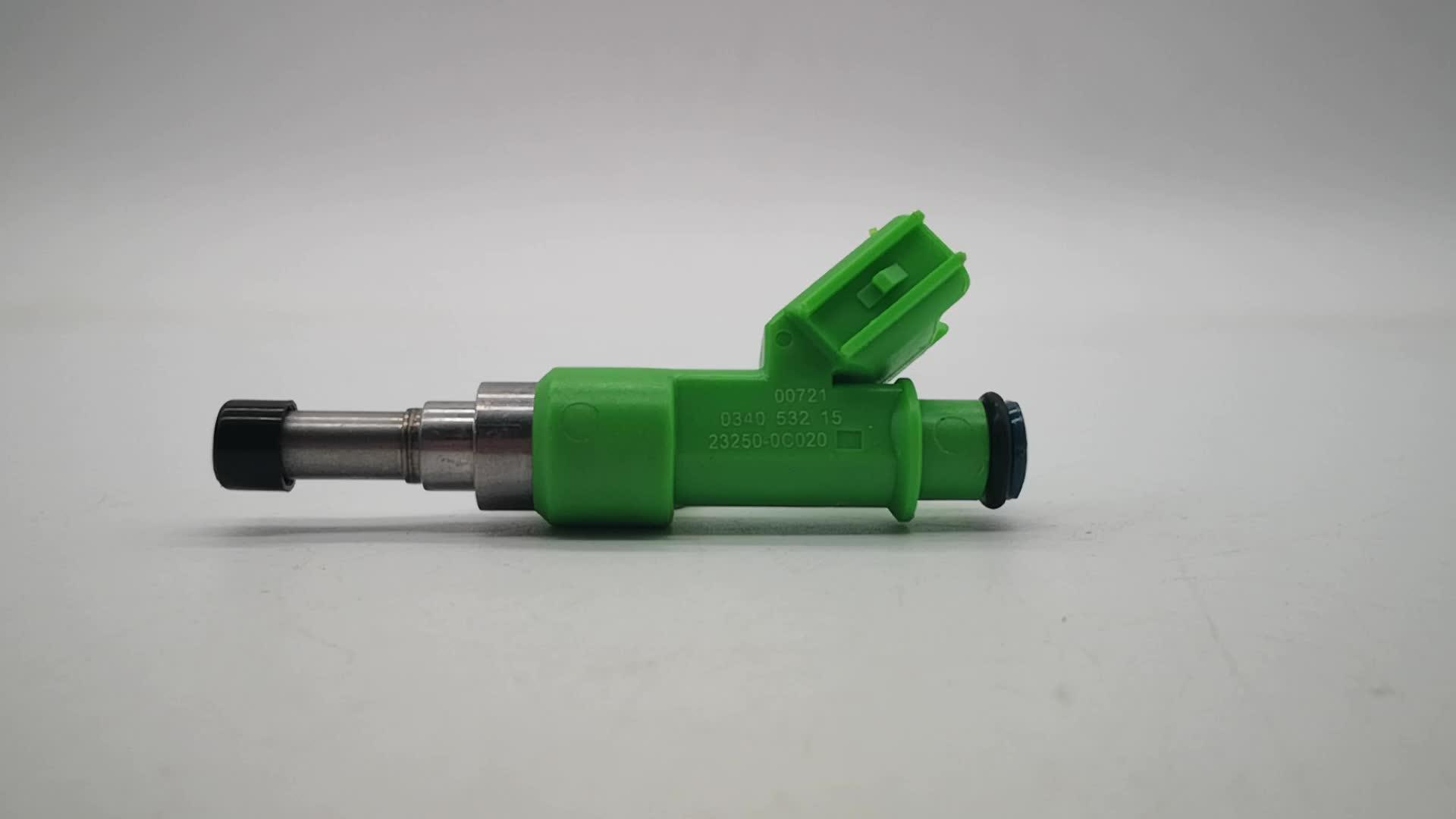 Benzinemotor Accessoires OEM Standaard Size 23250-0C020 Injector voor Toyota