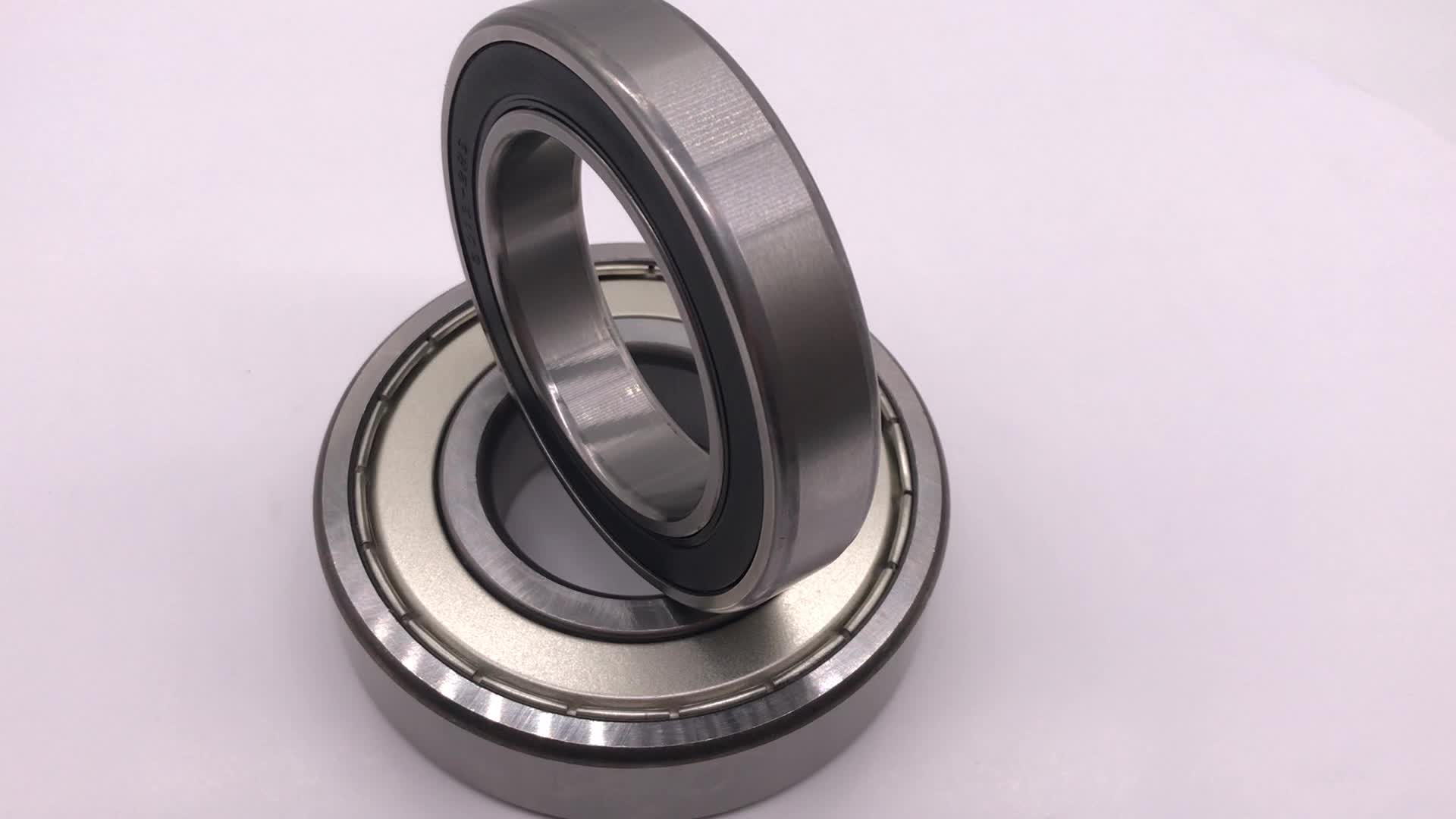 rubber/iron sealed deep groove ball bearing 6001zz 2rs 12*28*8 used to bicycle
