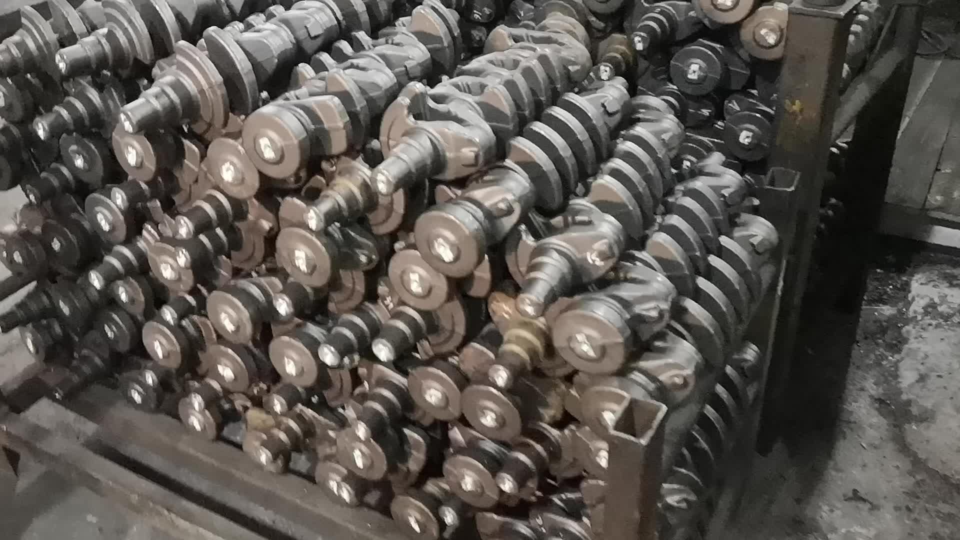 Deutz Air cooled Diesel เครื่องยนต์อะไหล่ F2L511 เพลาข้อเหวี่ยง 0415 2745