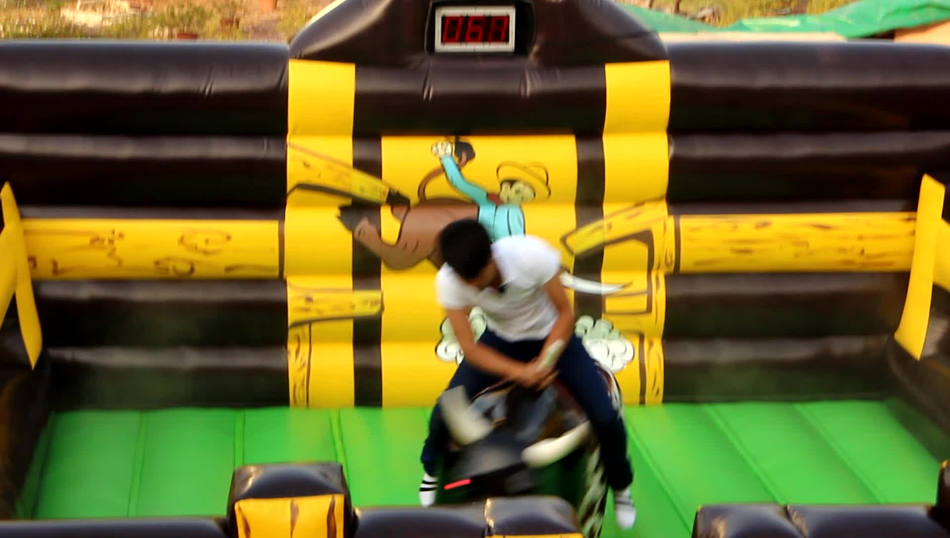 cheap wholesale price party used kids inflatable riding machine mechanical rodeo bull for sale