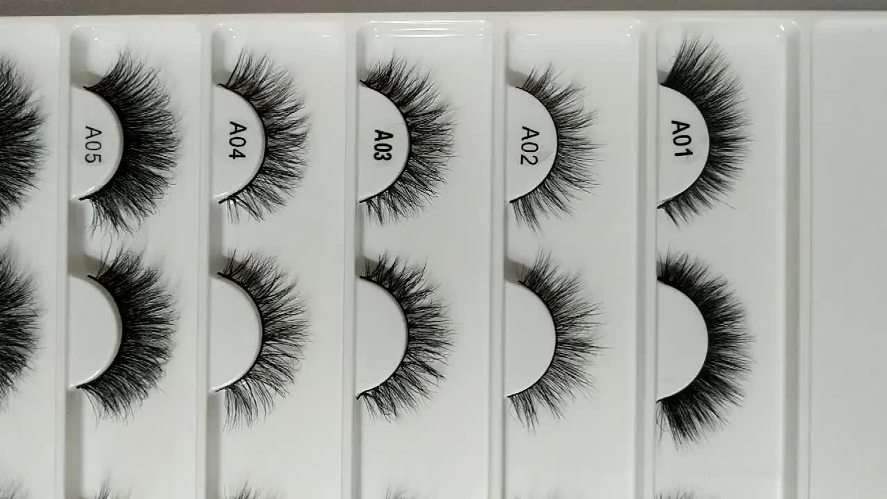 21 styles 15mm 16mm 18mm 20mm natural looking fashionable 3d mink eyelashes thin band short mink lashes A14