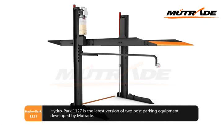 China Hydro-park Twee Post Auto Lift Twee Tier Auto Parking System