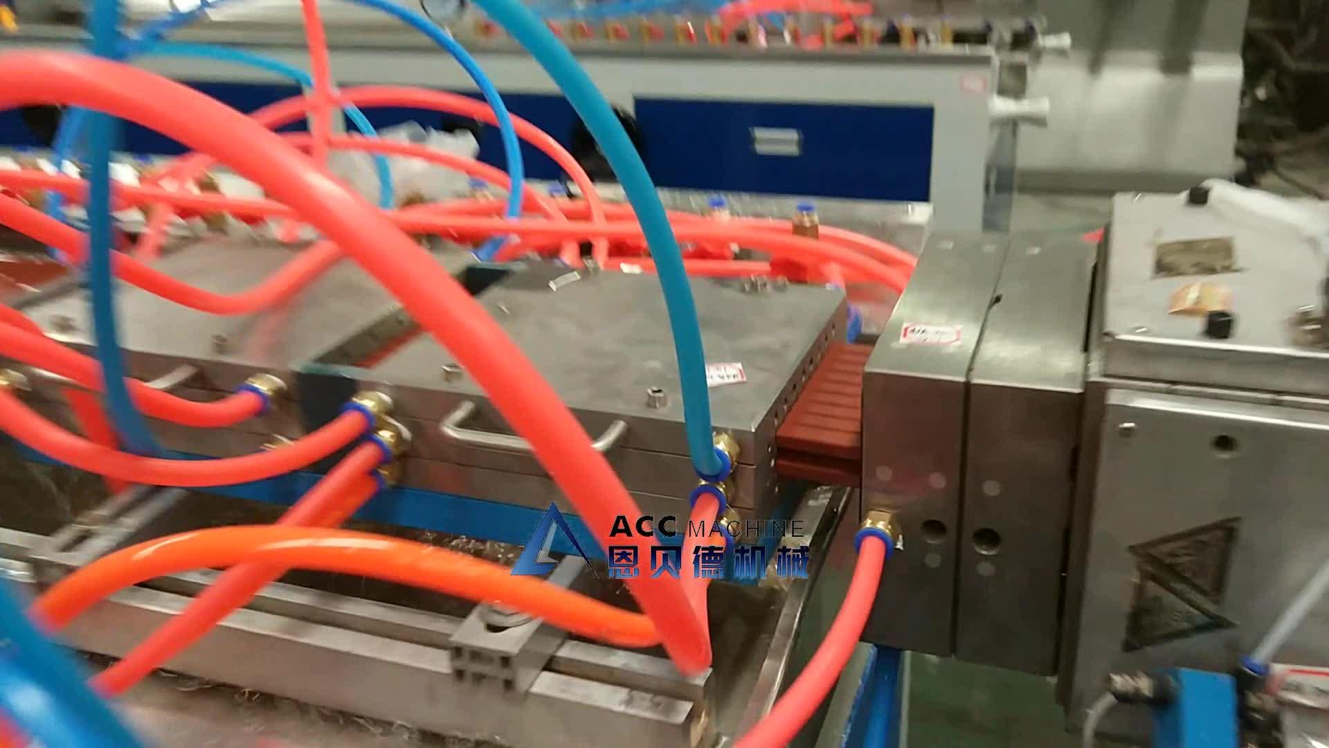 WPC Linha de Produção da Placa Da Espuma Da Crosta