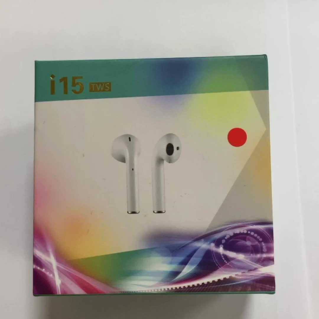 Kreatif Marmer Cetak Produk Baru Bluetooths Earphone Nirkabel Tws Headphone Ungu Pink Promosi Headset I15 I12