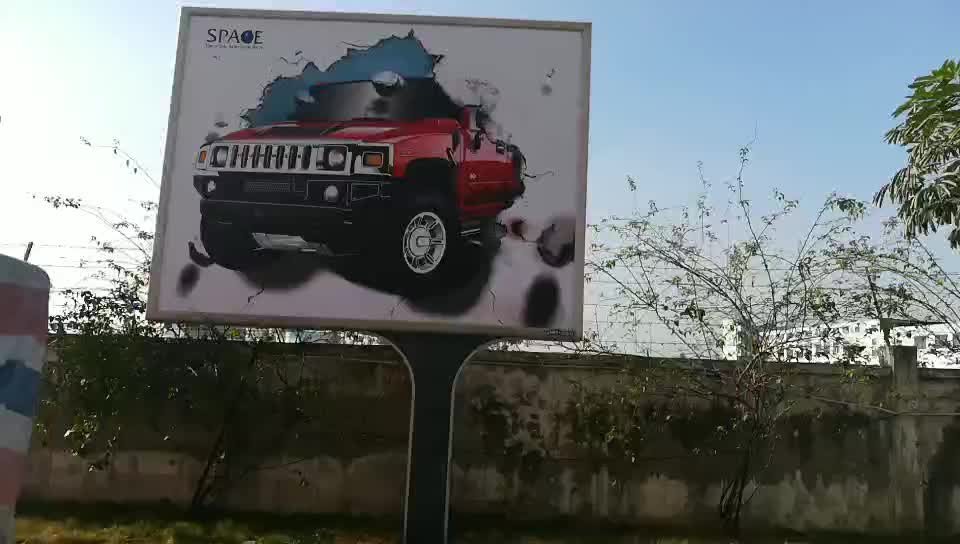 Popular and High quality  outdoor solar powered LED electronic billboards