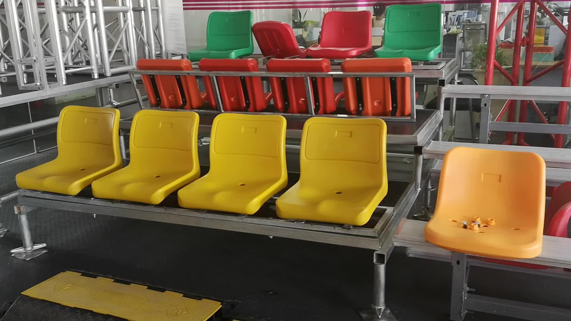 高速構築スタジアムアリーナ鋼リトラクタブル漂白ためスタジアム grandstand