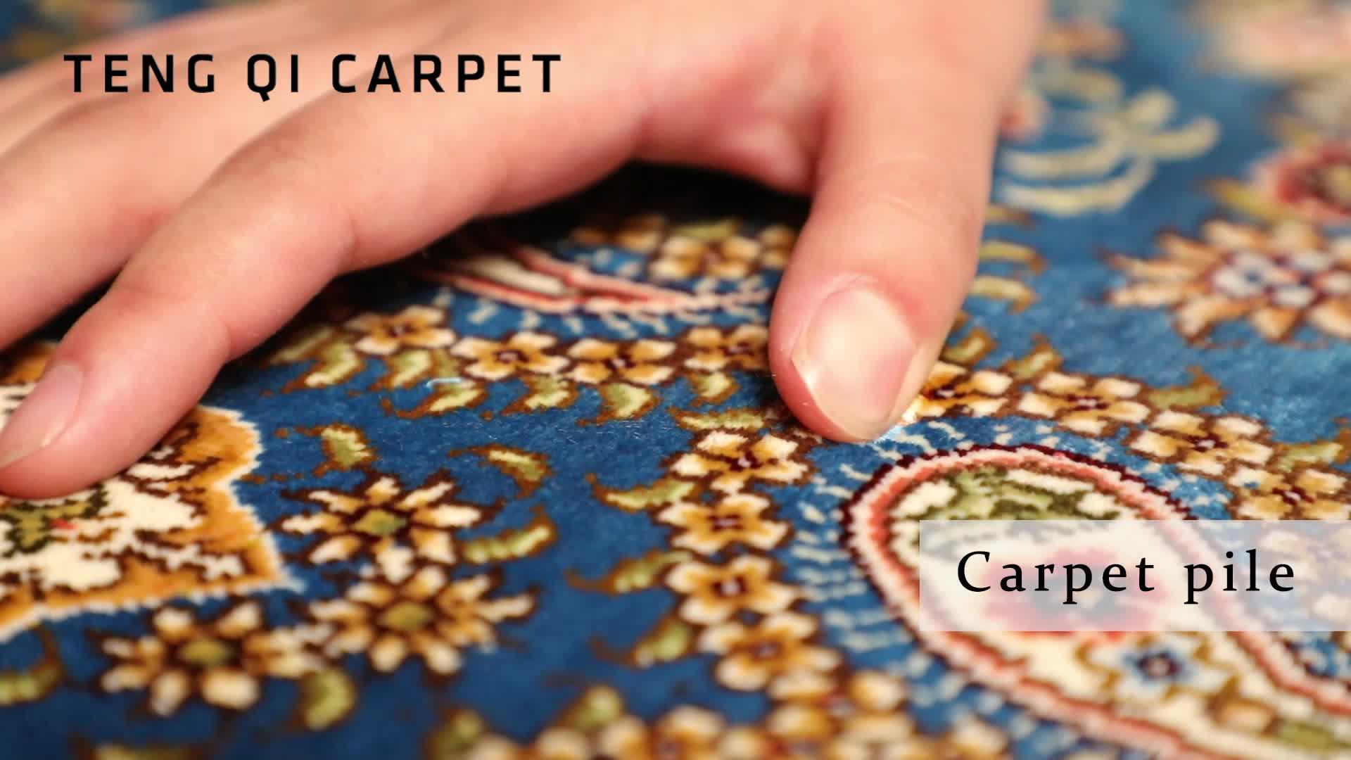 Bulk Export Moderne Design Handgeknoopte Perzische Tapijt voor Koop dubai zijden tapijt slaapkamer tapijten