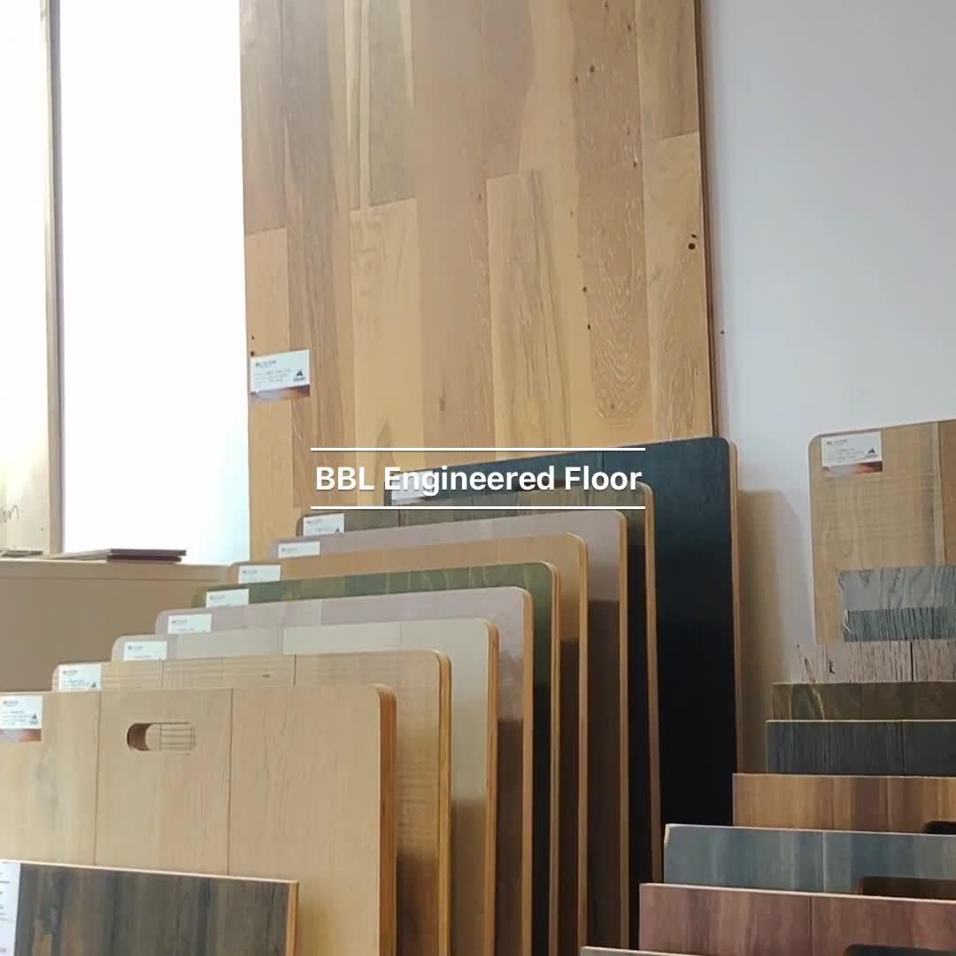 New arrival Finest Waterborne Glaze engineered parquet flooring oak flooring