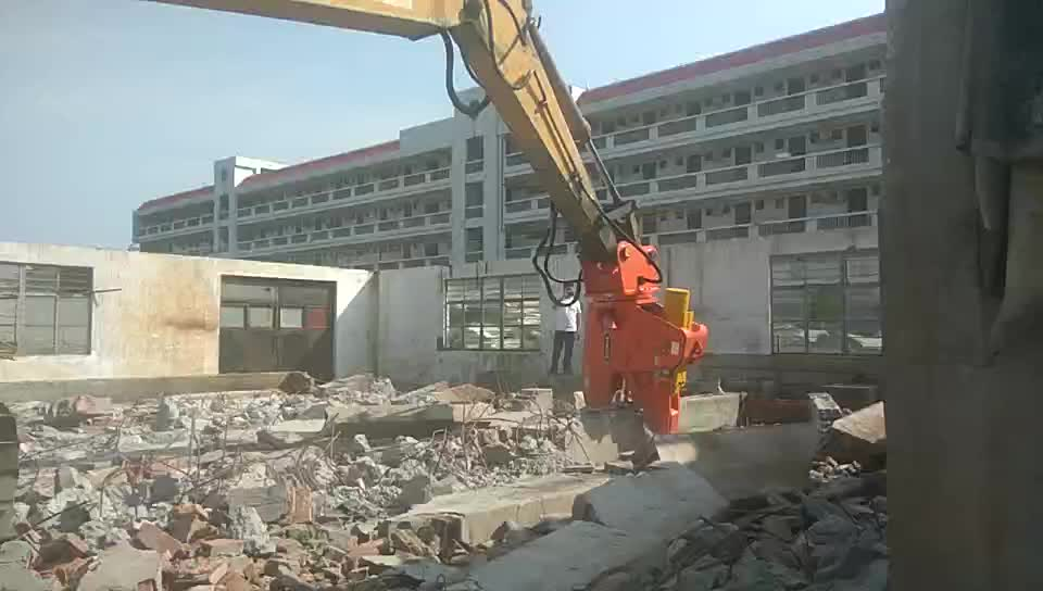 BEIYI shear excavator excavator hydraulic cutter and excavator concrete pulverizer for sale