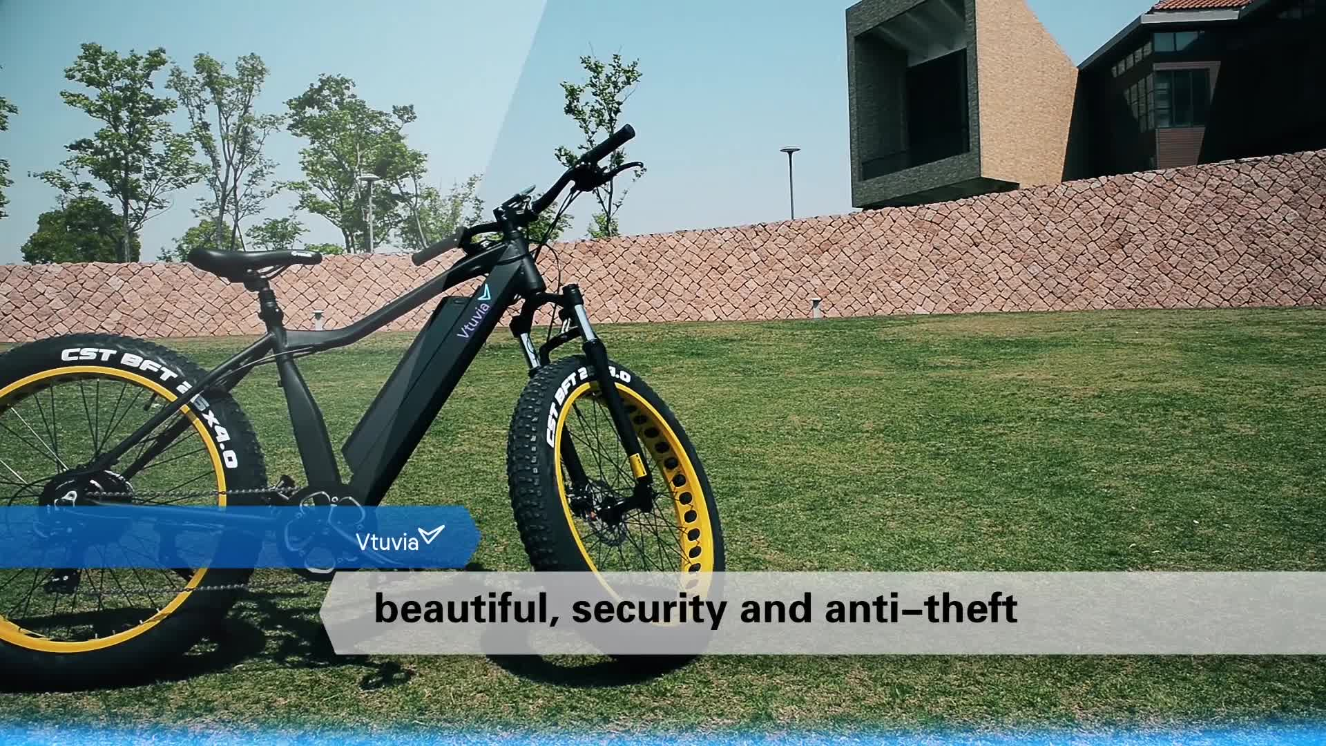 20' Mini CHINA 36V Fat Electric Bicycle with Disc brake