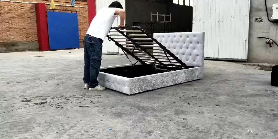 Divan Sex double Bed design Furniture,crushed velvet bed
