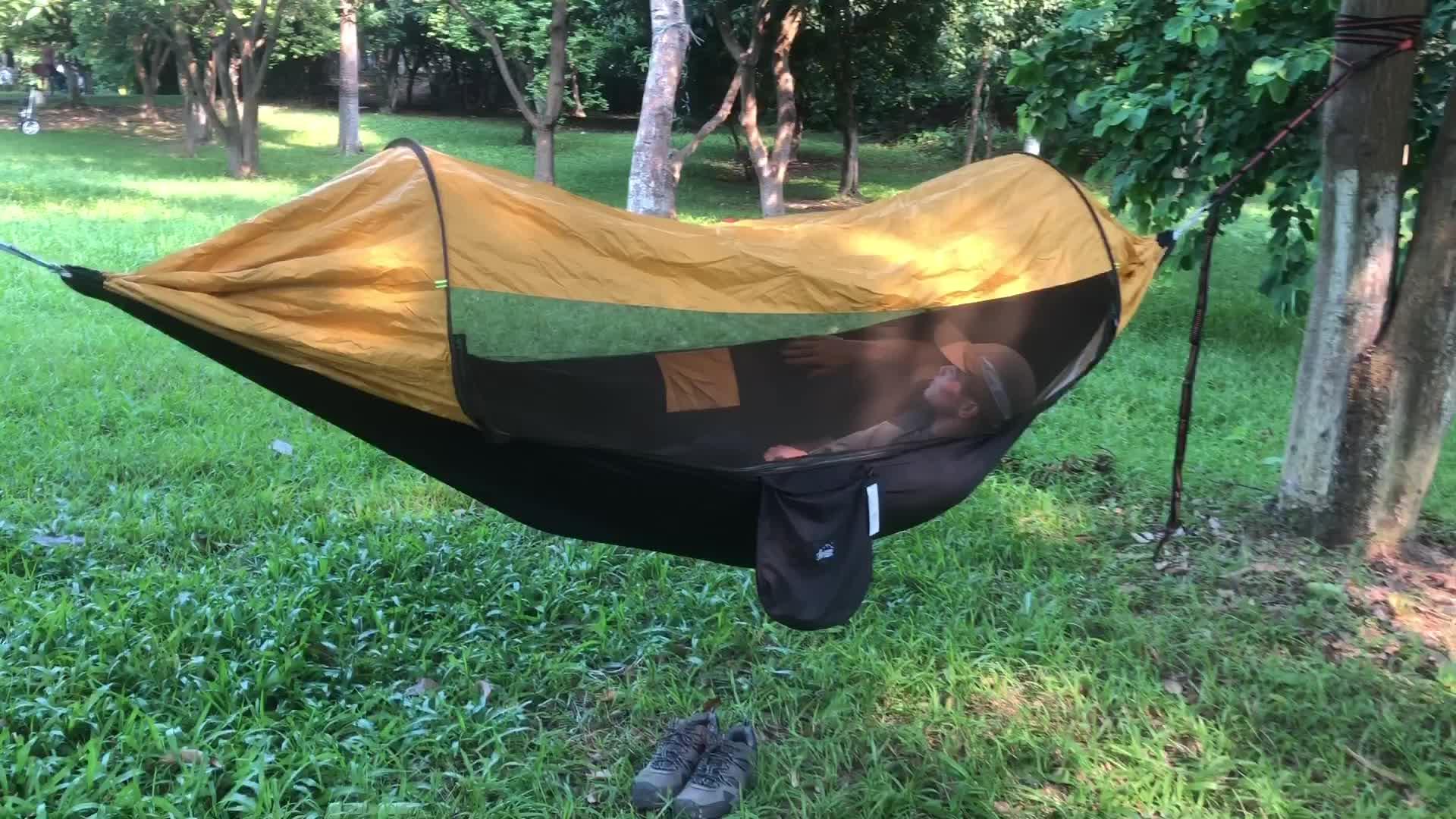 Tragbare Hängematte Im Freien Hängematte Netze Geeignet Für Zelt Tarp Leichte Outdoor Camping Wandern Antimosquito Hängematte