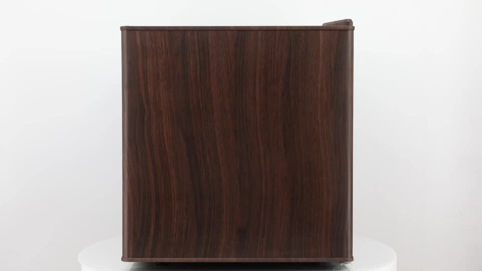 Low Price Can be customized Wood Mini Fridge For Home And Hotel