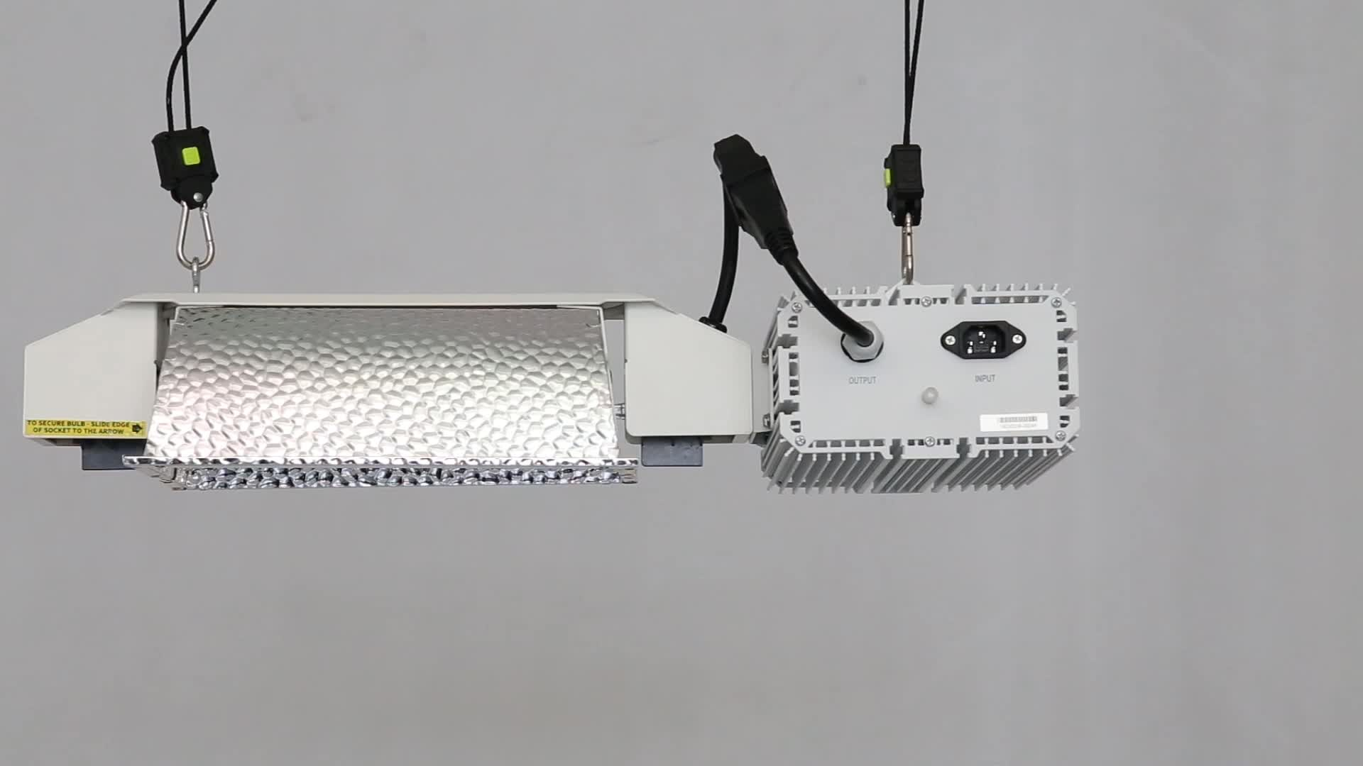 Energy Efficient Flexstar Integrated Adjustable Double Ended 945w CMH Fixture