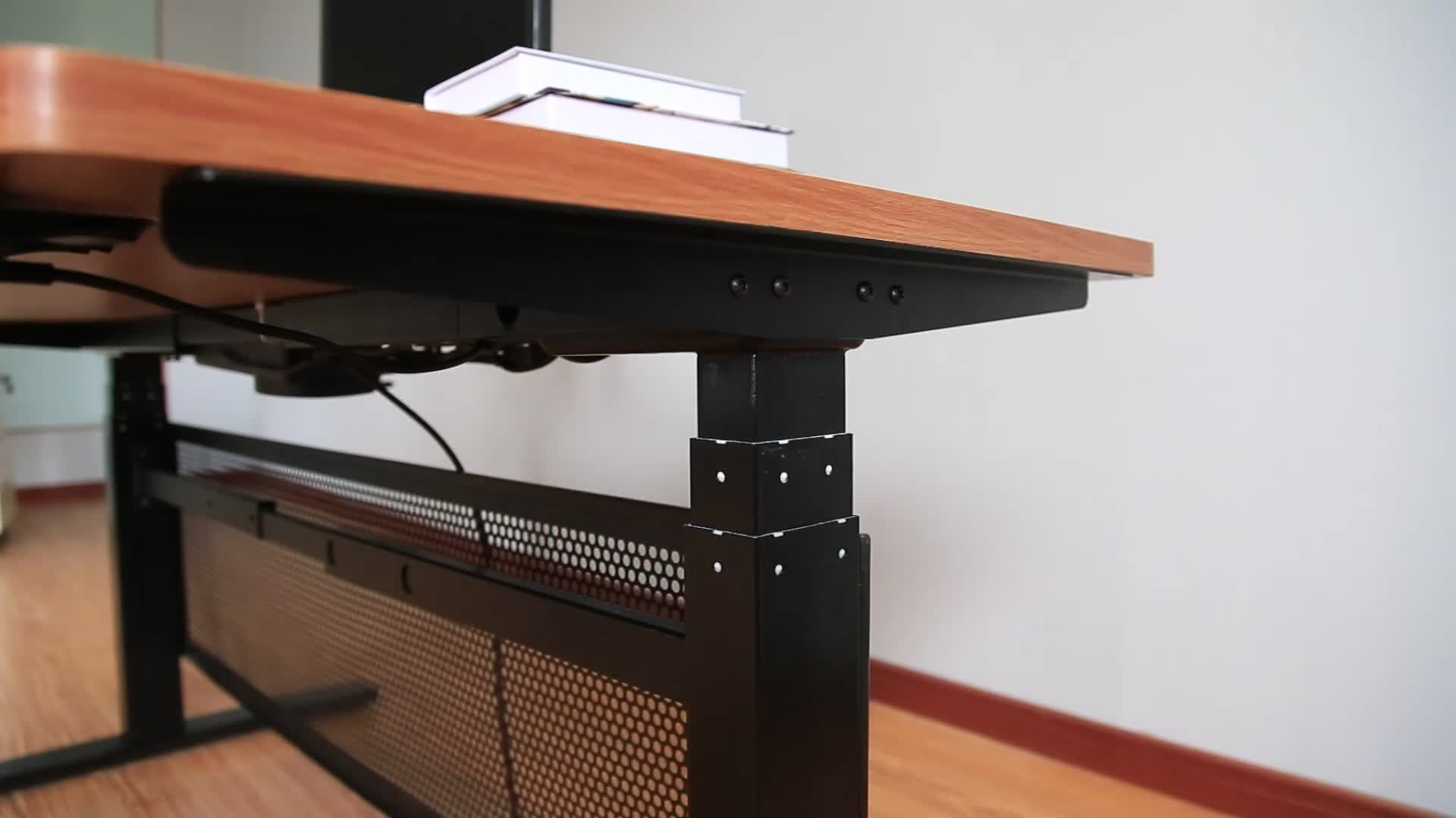 HighRise Electric Height Adjustable Table Base for Sit-to-Stand Desk