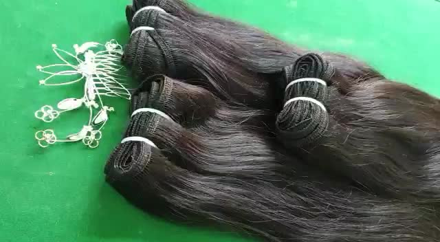 Natural Indian Virgin silky straight Remy Bulk Hair